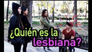 ¿Quién es la lesbiana? Experimento social   con @PairofAs - QUEFISHTV