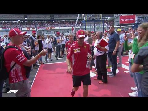 LIVE F1 German Grand Prix Build up: Drivers' Parade