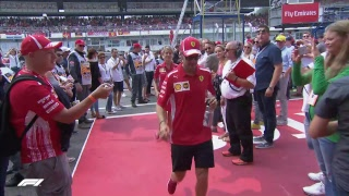 LIVE F1 German Grand Prix Build up: Drivers' Parade