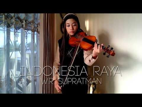 Indonesia Raya W.R. Supratman violin by Aciw Alexa