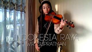 Indonesia Raya W.R. Supratman violin by Aciw Alexa