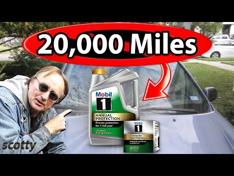 20,000 Mile Oil Change Myth Busted - Car Repair with Scotty Kilmer