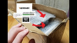 My First PACKAGE Unboxing! Tarmac Works/Greenlight Cars!!