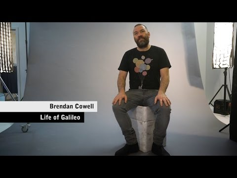 Life of Galileo  Talking telescopes with Brendan Cowell