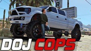 Dept. of Justice Cops #303 - Hill Climbs (Civilian)