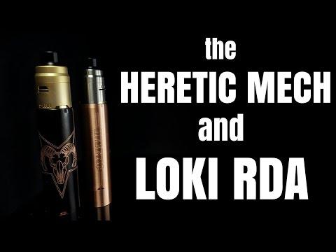 Heretic Hybrid mod & Loki RDA from Viiking Vape - I'm undecided