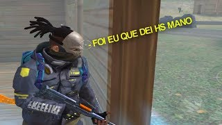 PAPEI TODOS OS KILLS DELES - FREE FIRE BATTLEGROUNDS ft. CHIN