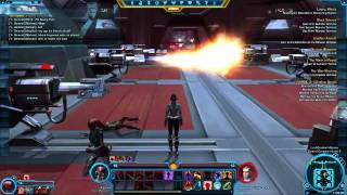 SWTOR Test Weekend Sith Warrior Marauder - Grathan Mission - SPOILERS