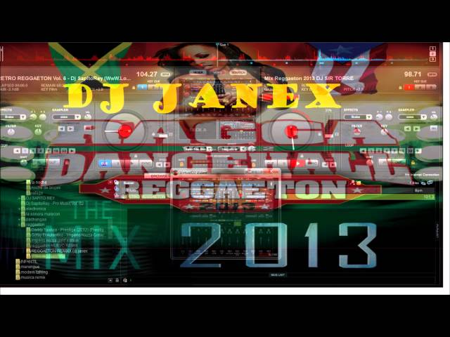mix reggaeton bailable - 2013 - ( DJ JANEX ) Videos De Viajes