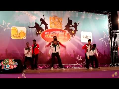 High School Musical My School Rocks 2010 Malaysia-3rd place (I don t dance) e25dad9fd8