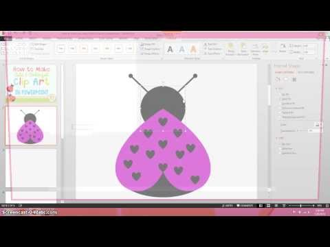 How to Make Cute and Colorful Clip Art in PowerPoint