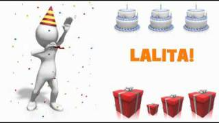 HAPPY BIRTHDAY LALITA!