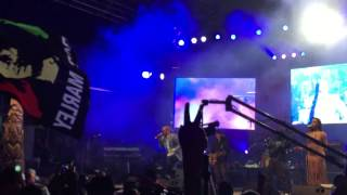 "Collie buddz@reggae on the river 2015. ""Come around"""