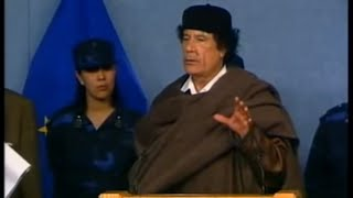 Gaddafi: The mad dog of the Middle East