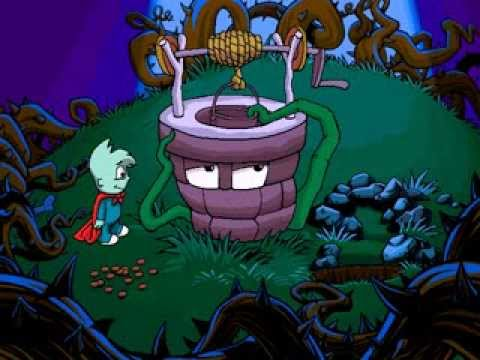 Pajama sam 3: you are what you eat from your head to your feet.