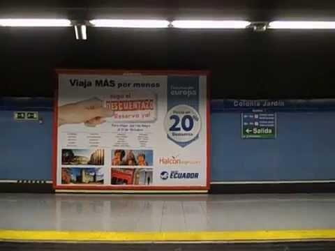metro de madrid linea 10 colonia jardin casa de