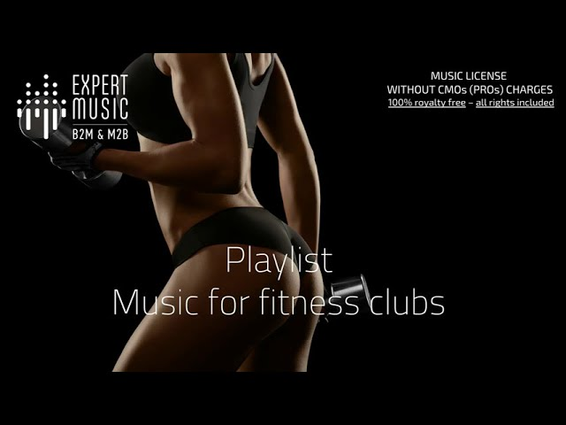 Music for Fitness clubs
