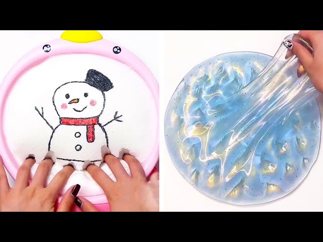 The Most Satisfying Slime ASMR Videos | Relaxing Oddly Satisfying Slime 2019 | 126