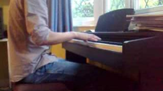Chris brown forever  On piano Insperation david sides