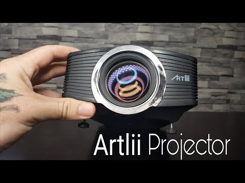 Budget Projector Under $100 | Artlii Home Theater Review