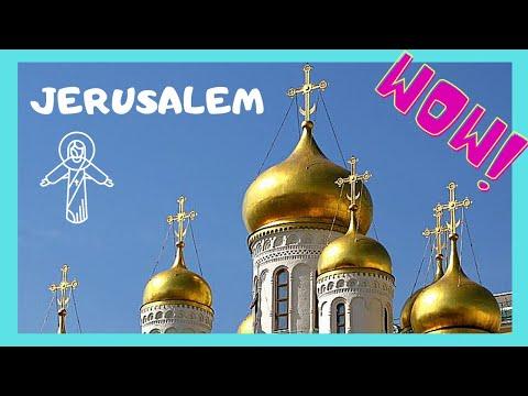 JERUSALEM, the RUSSIAN ORTHODOX CHURCH, ST MARY MAGDALENE (Церковь Святой Марии Магдалины)