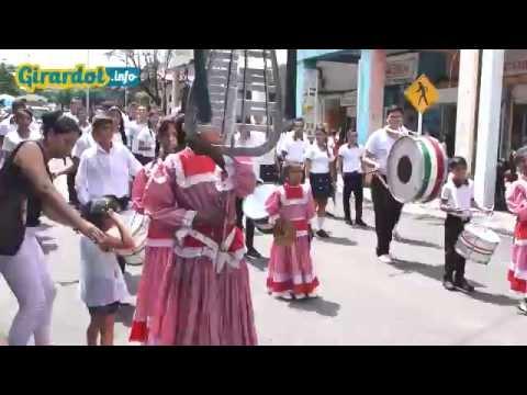Desfile por el cumpleaños 163 de Girardot
