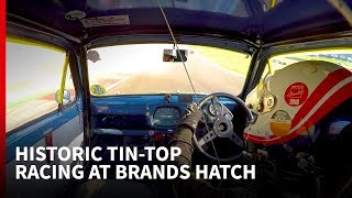 Racing an Austin A30 with a BTCC legend at Brands Hatch: Autosport Drives
