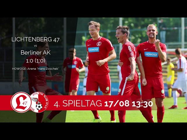 Regionalligateam: Spielszenen Lichtenberg 47 – Berliner AK