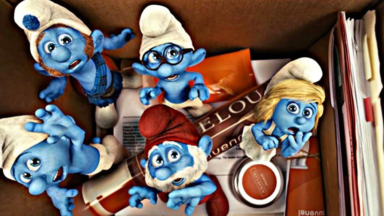 كائنات السنافر الغريبة♥️ في محاولة الهروب من ساحر🦹♀️يبحث عن الأكسير😂💦 ملخص فيلم The Smurfs 2011