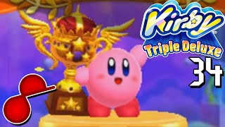 Kirby Triple Deluxe - [34] Flames of Truth