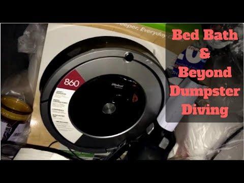 Dumpster Diving Night #3 - Bed Bath & Beyond - GameStop