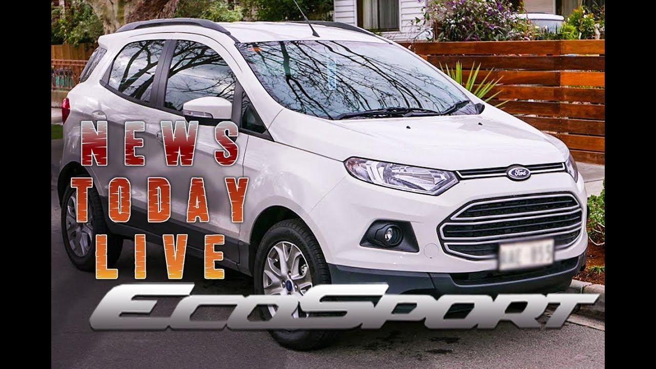 Ford Ecosport फ र ड इक स प र ट Test Drive Review