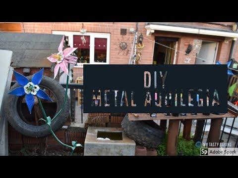 DIY: Making a Metal Aquilegia/Columbine Flower