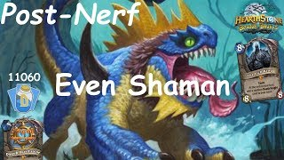 Hearthstone: Even Shaman Post-Nerf #3: Witchwood (Bosque das Bruxas) - Standard Constructed