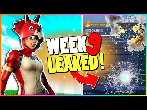 WEEK 9 CHALLENGES LEAKED! | Early Guide! | Fortnite Battle Royale