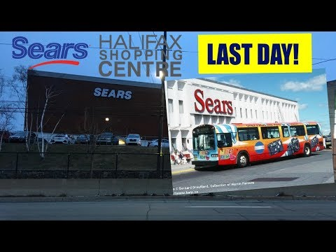 Sears Halifax Shopping Centre LAST DAY!