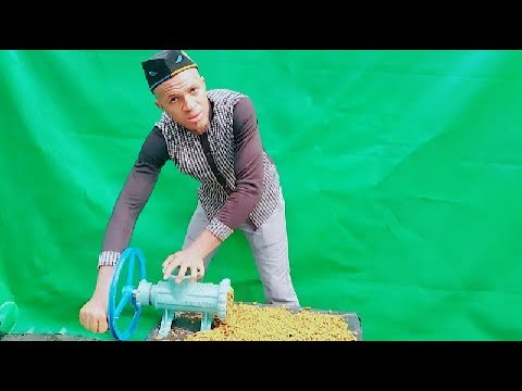 FISH FEED MAKING; LOW COST  ALTERNATIVE PELLET MACHINE; HOW TO ASSEMBLE, DISASSEMBLE AND USE