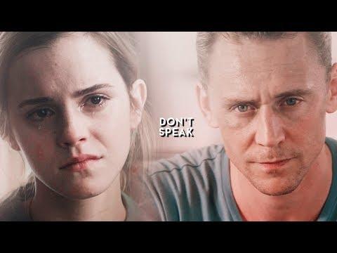 Loki & Hermione   don't speak  [HBD Barbara]