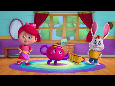 I'm a Little Teapot | Sing and Dance | Nursery Rhymes | Betty and Bunny Baby Songs
