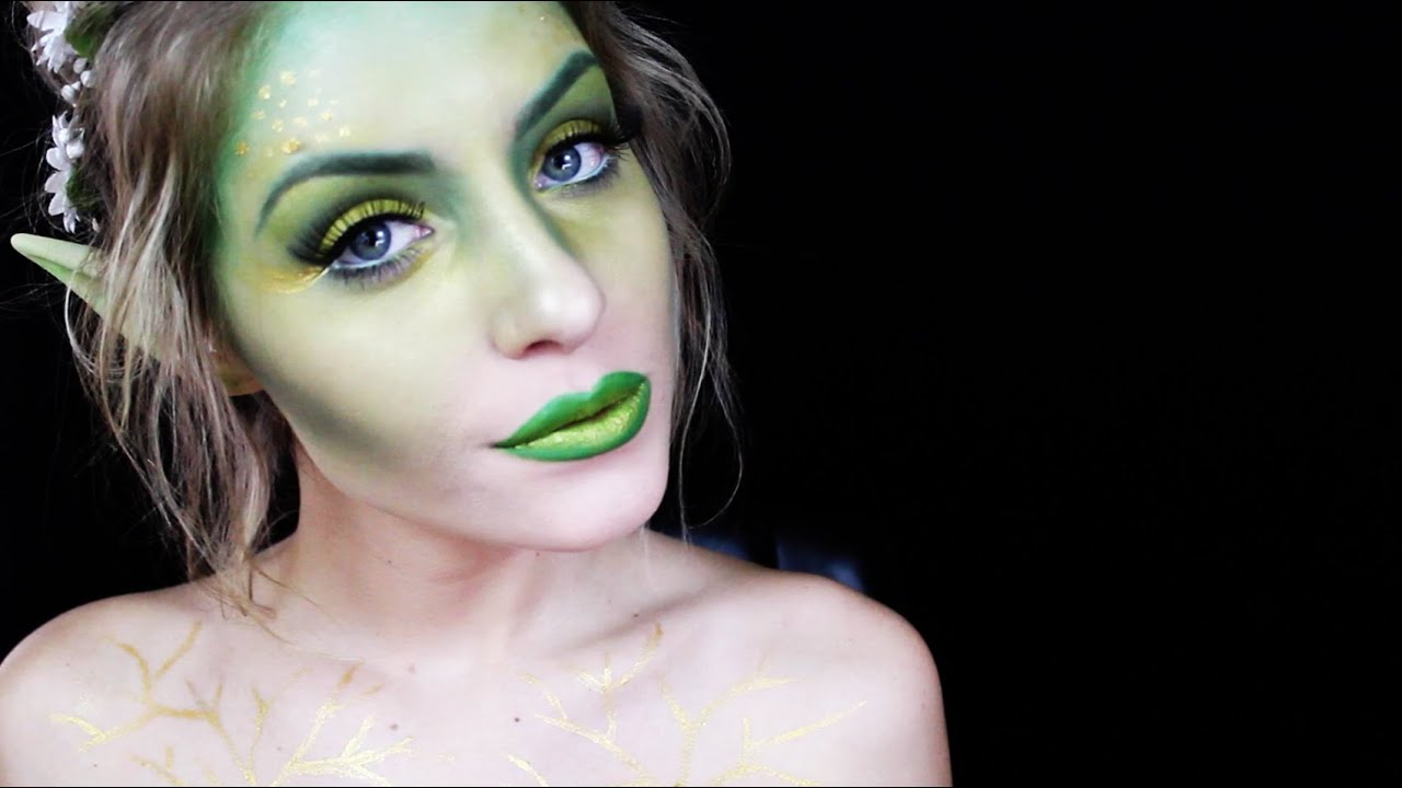 Halloween makeup tutorial woodland fairy youtube baditri Images