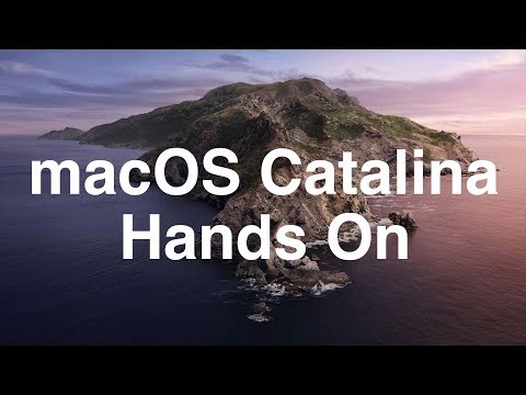 macOS Catalina Hands-On: What's New?