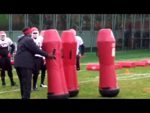 UGA defensive line