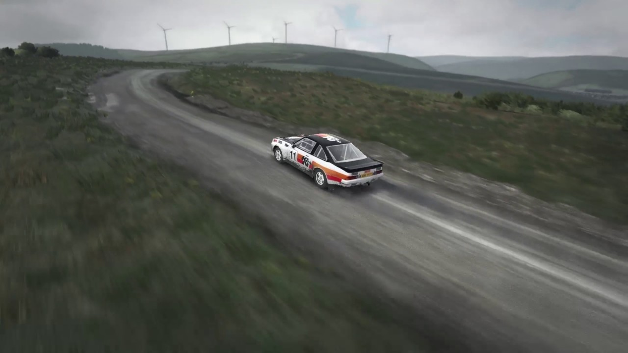dirt rally ps4 pro opel manta 400 youtube. Black Bedroom Furniture Sets. Home Design Ideas