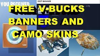 Fortnite Gratuit V Bucks Bannières et Camo Skins - Pourquoi vous devriez acheter le pack fondateurs