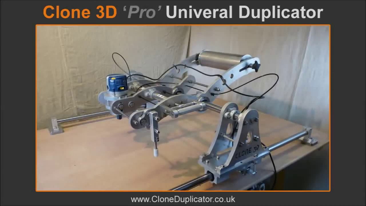 Clone 3d Pro Universal Router Duplicator Youtube