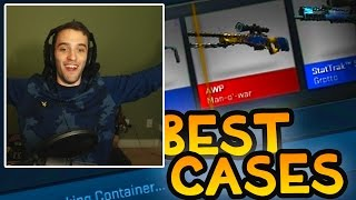 BEST SET OF CASES YET?! QUEST FOR GOLDEN KNIFE #6 w/ Preston and Woofless