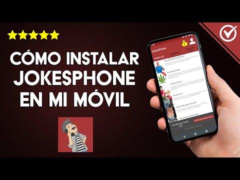 Cómo Descargar e Instalar Jokesphone y Tener Bromas Telefónicas Gratis para usar con tus Amigos