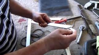 como hacer mosquitero de aluminio