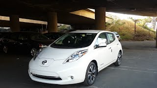 nissan leaf videos. Black Bedroom Furniture Sets. Home Design Ideas