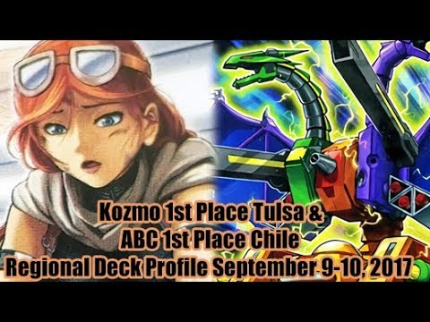 Kozmo 1st Place Tulsa & ABC 1st Place Chile - Regional Report September 9-10, 2017 Deck Profiles